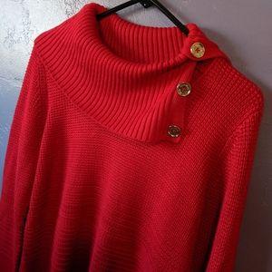 Calvin Klein ✨ rogue red sweater